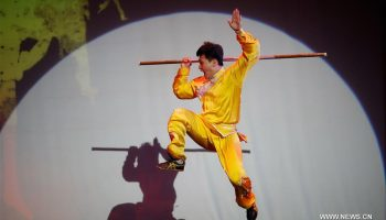 """China Day"" Wushu show presented in U.S."
